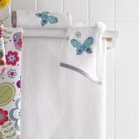 Полотенце банное Kassatex Butterflies