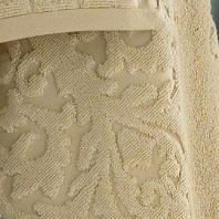 Полотенце для рук Kassatex Bedminster Medallion Creme Brule