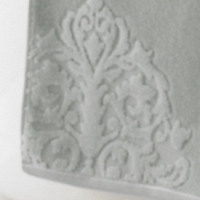 Полотенце для рук Kassatex Bedminster Medallion Silver