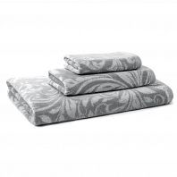 Полотенце для рук Kassatex Bedminster Scroll Flint Grey