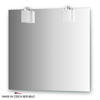 Зеркало со светильниками Ellux Bolero 80х75см