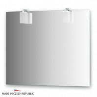 Зеркало со светильниками Ellux Bolero 90х75см