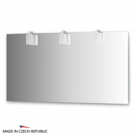 Зеркало со светильниками Ellux Bolero 140х75см