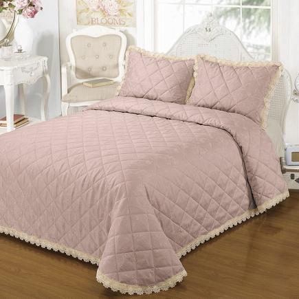 Нефертити (розовое) Покрывало Sofi de Marko Bedspread 240х260см BS14-312Не-р