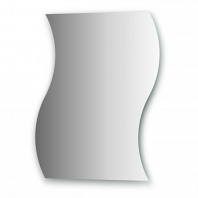Зеркало со шлифованной кромкой Evoform Primary 60х75см