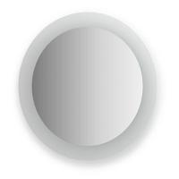 Зеркало с матированными частями Evoform Fashion 60х60см