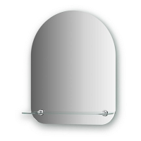 Зеркало с полочкой Evoform Optima 40х50см