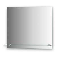 Зеркало с полочкой и фацетом Evoform Attractive 70х60см