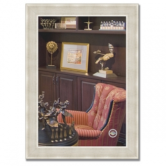 Зеркало в багетной раме Evoform Definite 54х74см BY 0632