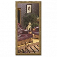 Зеркало в багетной раме Evoform Definite 74х154см