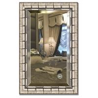 Зеркало в багетной раме с фацетом Evoform Exclusive 53х83см