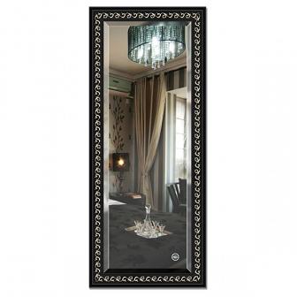 Зеркало в багетной раме с фацетом Evoform Exclusive 65х155см BY 1185