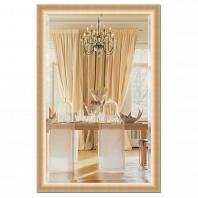 Зеркало в багетной раме с фацетом Evoform Exclusive 116х176см