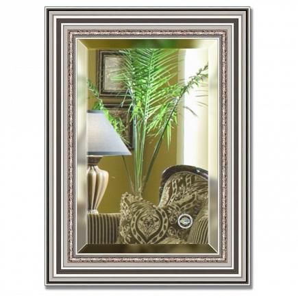 Зеркало в багетной раме с фацетом Evoform Exclusive 56х76см BY 1227