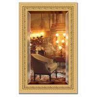 Зеркало в багетной раме с фацетом Evoform Exclusive 55х85см