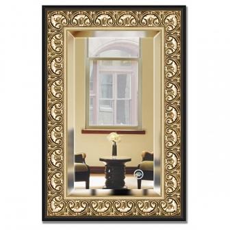 Зеркало в багетной раме с фацетом Evoform Exclusive 60х90см BY 1241