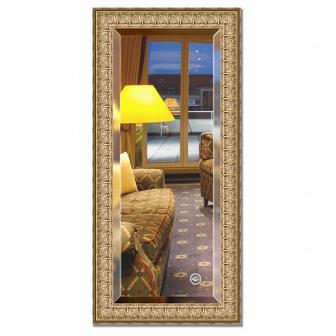 Зеркало в багетной раме с фацетом Evoform Exclusive 53х113см BY 1243