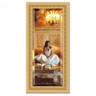 Зеркало в багетной раме с фацетом Evoform Exclusive 55х115см