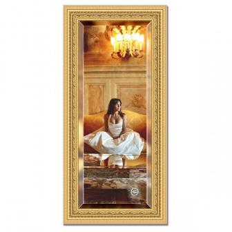 Зеркало в багетной раме с фацетом Evoform Exclusive 55х115см BY 1244