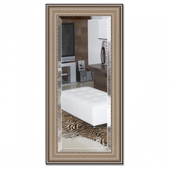 Зеркало в багетной раме с фацетом Evoform Exclusive 56х116см BY 1245