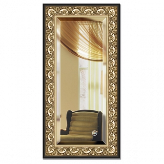 Зеркало в багетной раме с фацетом Evoform Exclusive 60х120см BY 1251