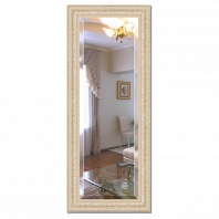 Зеркало в багетной раме с фацетом Evoform Exclusive 55х135см