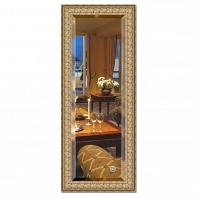 Зеркало в багетной раме с фацетом Evoform Exclusive 53х133см