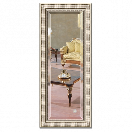 Зеркало в багетной раме с фацетом Evoform Exclusive 57х137см BY 1258