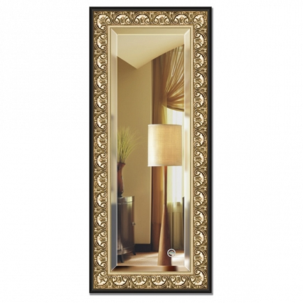 Зеркало в багетной раме с фацетом Evoform Exclusive 60х140см BY 1261