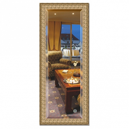 Зеркало в багетной раме с фацетом Evoform Exclusive 58х143см BY 1263