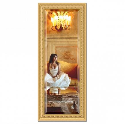 Зеркало в багетной раме с фацетом Evoform Exclusive 60х145см BY 1264
