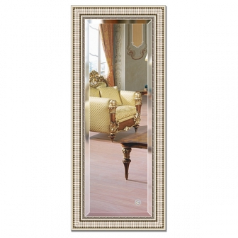 Зеркало в багетной раме с фацетом Evoform Exclusive 62х147см BY 1268