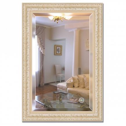 Зеркало в багетной раме с фацетом Evoform Exclusive 65х95см BY 1272