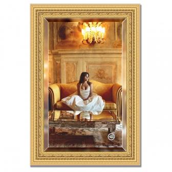 Зеркало в багетной раме с фацетом Evoform Exclusive 65х95см BY 1274
