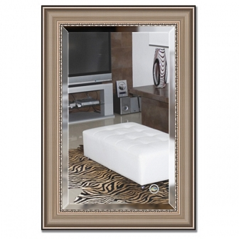 Зеркало в багетной раме с фацетом Evoform Exclusive 66х96см BY 1275