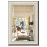 Зеркало в багетной раме с фацетом Evoform Exclusive 68х98см