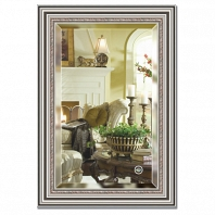Зеркало в багетной раме с фацетом Evoform Exclusive 66х96см