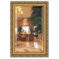 Зеркало в багетной раме с фацетом Evoform Exclusive 65х95см