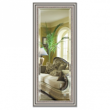Зеркало в багетной раме с фацетом Evoform Exclusive 66х156см BY 1287