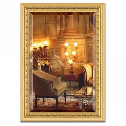 Зеркало в багетной раме с фацетом Evoform Exclusive 75х105см BY 1294
