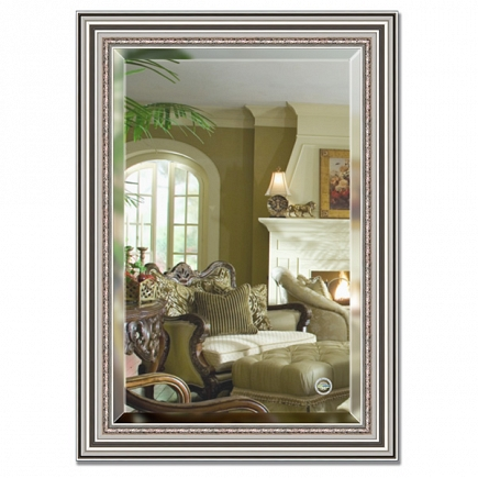 Зеркало в багетной раме с фацетом Evoform Exclusive 76х106см BY 1297