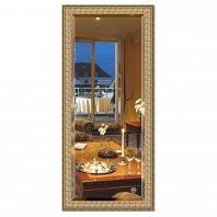 Зеркало в багетной раме с фацетом Evoform Exclusive 73х163см