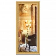 Зеркало в багетной раме с фацетом Evoform Exclusive 75х165см