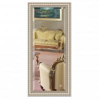 Зеркало в багетной раме с фацетом Evoform Exclusive 77х167см