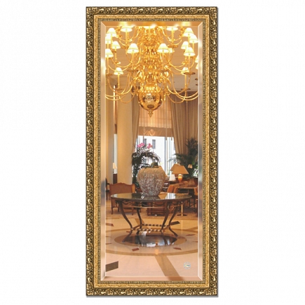 Зеркало в багетной раме с фацетом Evoform Exclusive 75х165см BY 1310