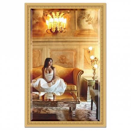 Зеркало в багетной раме с фацетом Evoform Exclusive 115х175см BY 1314