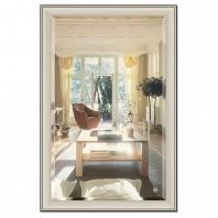 Зеркало в багетной раме с фацетом Evoform Exclusive 118х178см