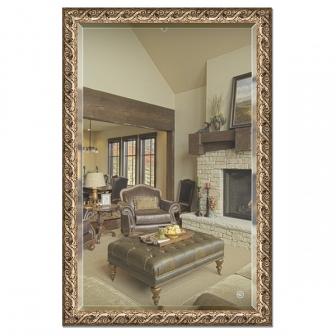Зеркало в багетной раме с фацетом Evoform Exclusive 116х176см BY 1319
