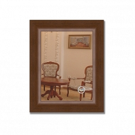 Зеркало в багетной раме Evoform Definite 42х52см