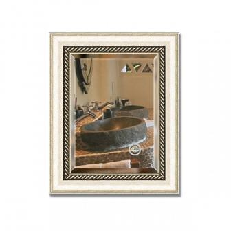 Зеркало в багетной раме с фацетом Evoform Exclusive 44х54см BY 1354